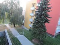 balkon výhled